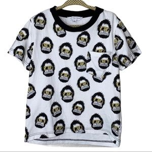 Little Marc Jacobs Ape Monkey With Sunglasses Top